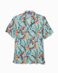 Break Wave Fronds IslandZone® Camp Shirt