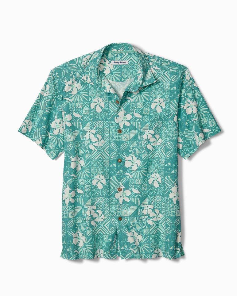 Main Image for Tahitian Tiles IslandZone® Camp Shirt