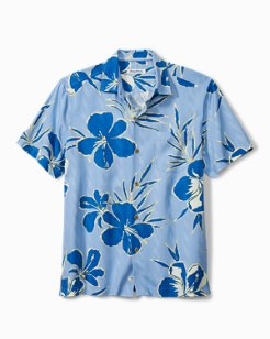 Kona Hibiscus Camp Shirt