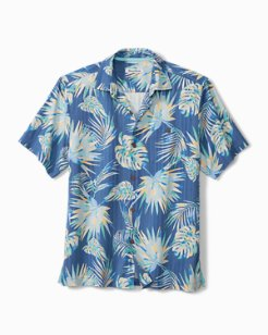 Monstera Geo IslandZone® Camp Shirt