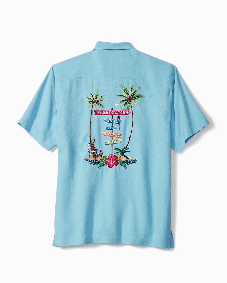 Main Image for Live The Island Life Camp Shirt