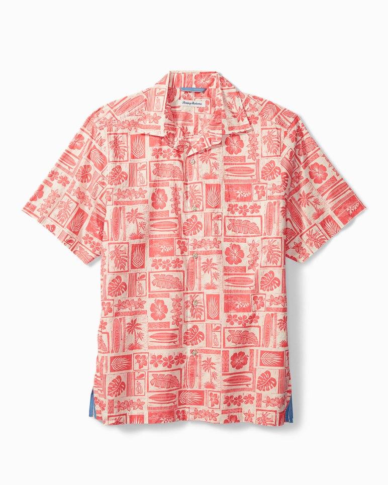 Main Image for Lido Beach Stretch-Cotton Camp Shirt