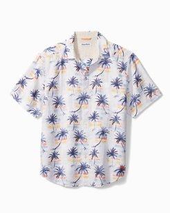 Sunset Palm Camp Shirt