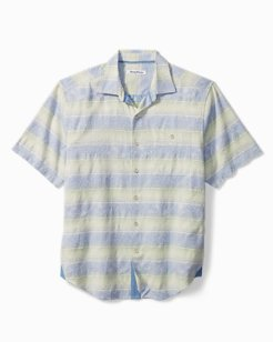 Sardinia Stripe Camp Shirt
