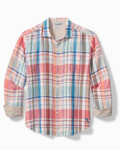 San Pietro Plaid Long-Sleeve Shirt