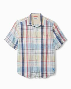 San Pietro Plaid Short-Sleeve Shirt