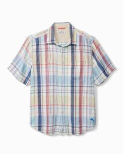 San Pietro Plaid Short-Sleeve Shirt
