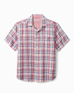 The Switch Up Plaid Camp Shirt