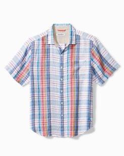 Tellaro Plaid Camp Shirt