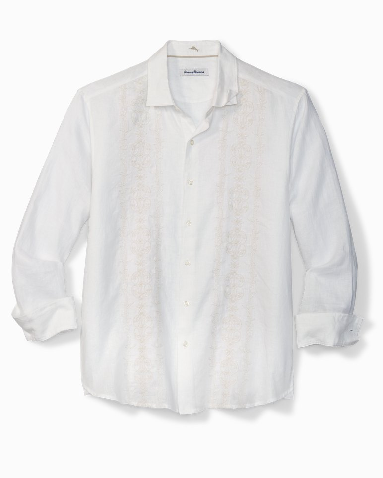 Main Image for Verona Vines Embroidered Linen Shirt