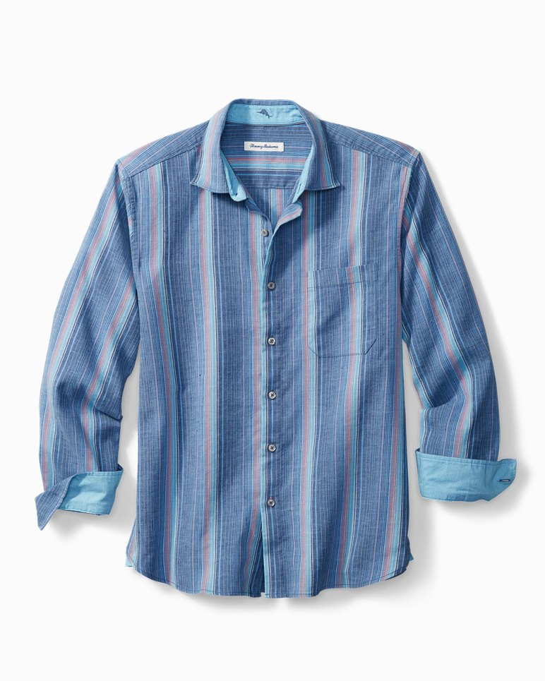 Main Image for Corsica Stripe Stretch-Linen Shirt