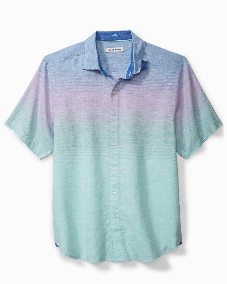 Main Image for Sea To Sky Stripe Stretch-Linen Camp Shirt