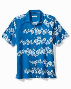 Hibiscus Waves Camp Shirt