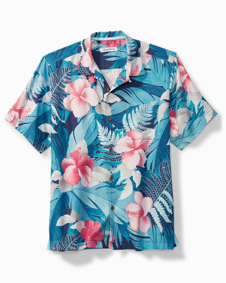 Main Image for Hibiscus Hues Camp Shirt