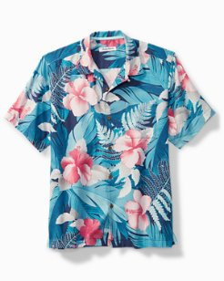 Hibiscus Hues Camp Shirt