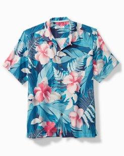 Hibiscus Hues Camp Shirt