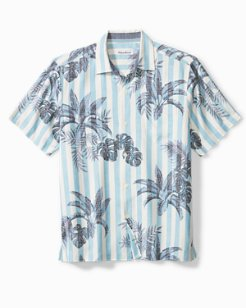 Poolside Palms Camp Shirt