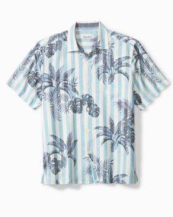 Poolside Palms Camp Shirt