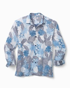 Las Pineapple Linen Shirt