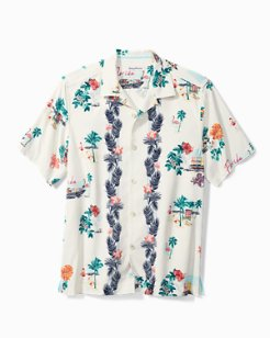 Flamingo Lei Camp Shirt