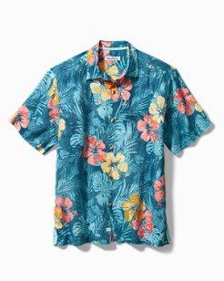 Mahalo Mirage Linen Camp Shirt
