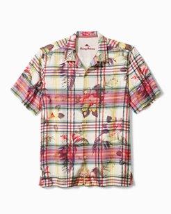 Huladays Plaid Camp Shirt