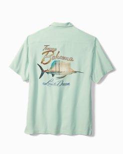 Marlin Sunset Camp Shirt