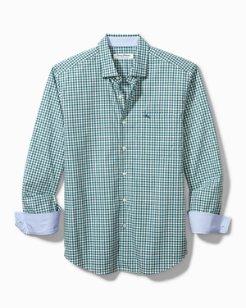 Newport Coast Grazie Gingham IslandZone® Shirt
