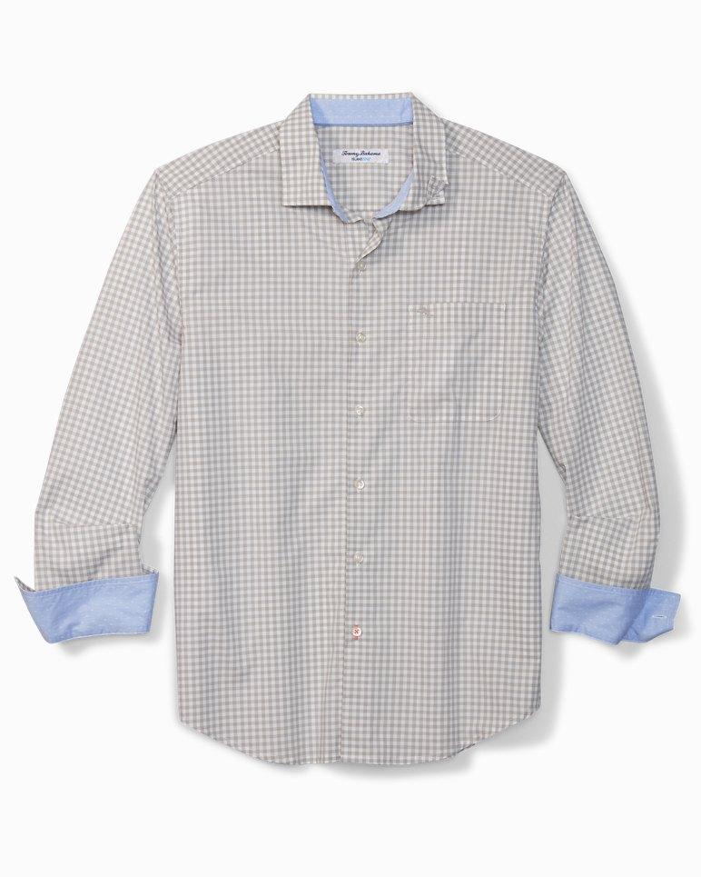 Main Image for Newport Coast Grazie Gingham IslandZone® Shirt