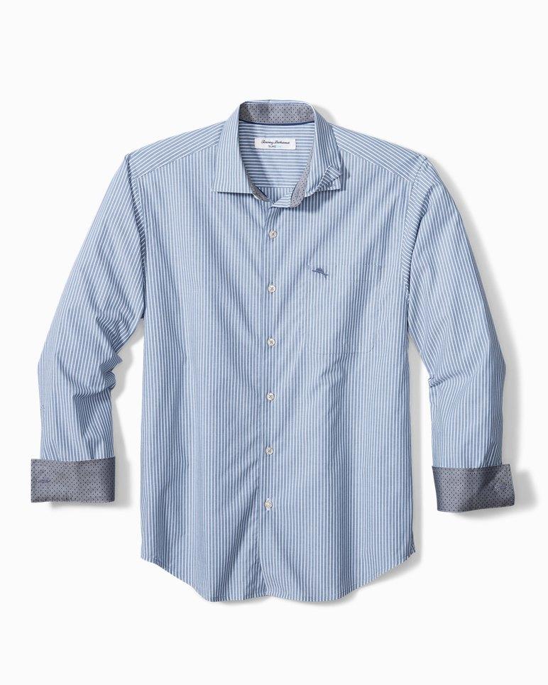 Main Image for Newport Coast Chalk Stripe IslandZone® Shirt