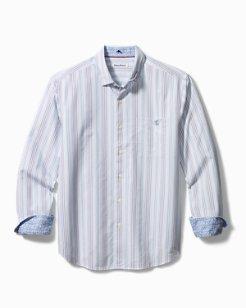 San Vincente Stripe Stretch-Cotton Shirt