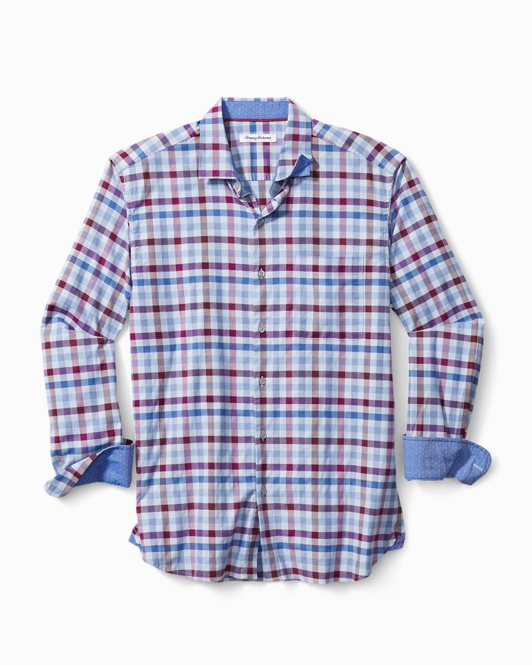 Main Image for Rancho Via Check Stretch-Cotton Shirt