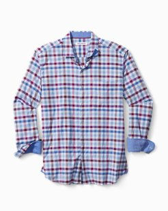 Rancho Via Check Stretch-Cotton Shirt