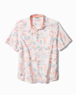 Bogart Blooms Camp Shirt