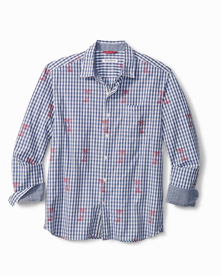 Main Image for Palm Gingham Shirt