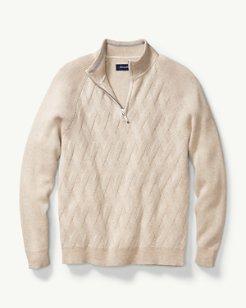 Ocean Crest Half-Zip Sweater