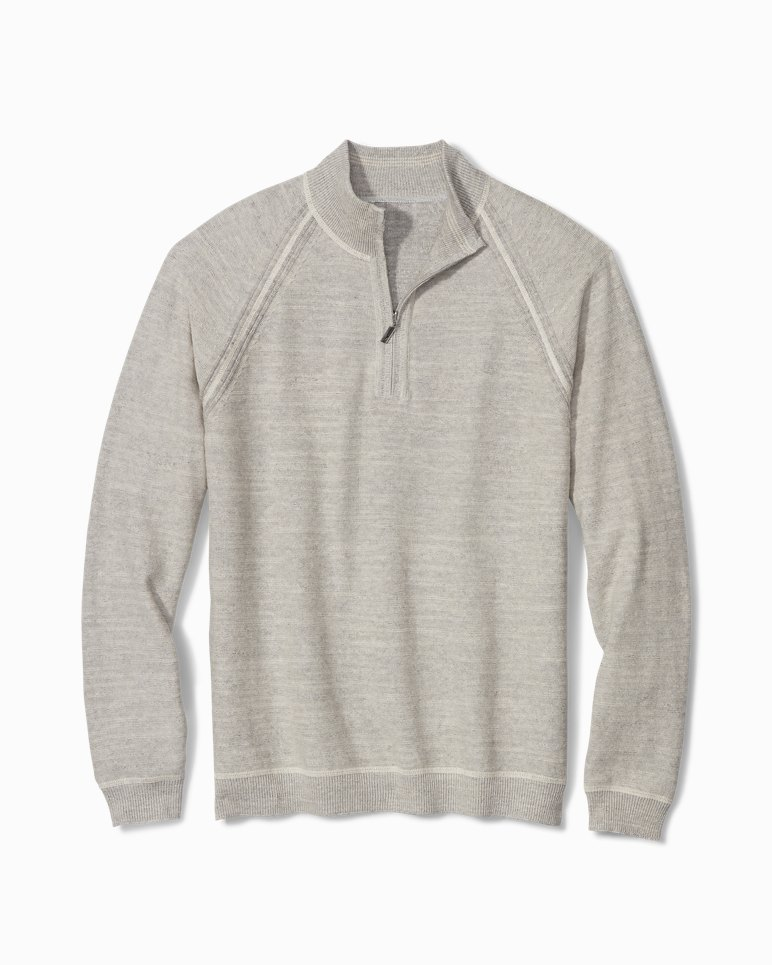 Main Image for Sandy Bay Reversible Half-Zip Sweater