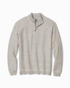 Sandy Bay Reversible Half-Zip Sweater