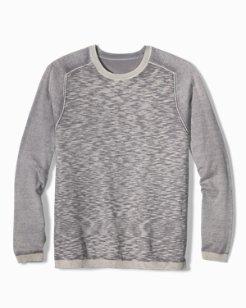 Sea Breeze Reversible Crewneck Sweater