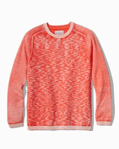 Sea Breeze Reversible Crewneck Sweater