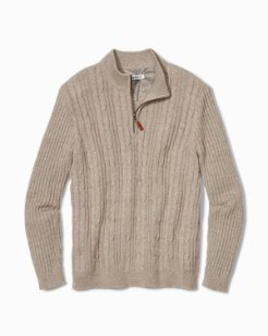 Tenorio Half-Zip Sweater