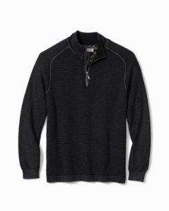 Island Tide Half-Zip Sweater