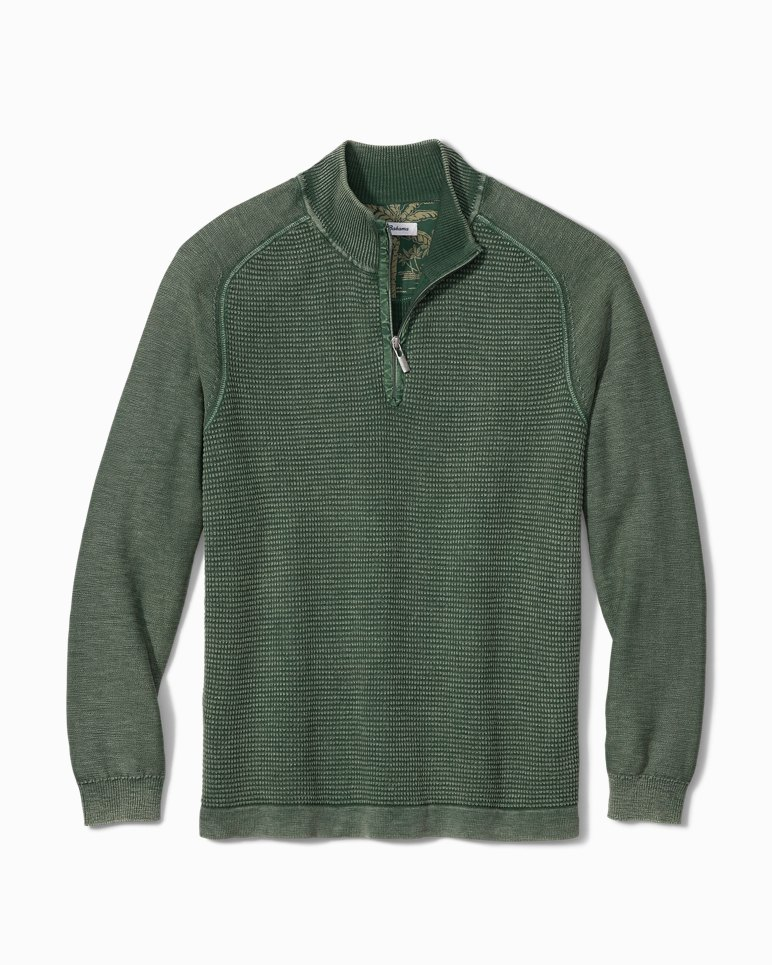 Main Image for Island Tide Half-Zip Sweater