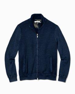 Island Tide Full-Zip Sweater