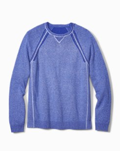 Sun Up, Sun Down Reversible Crewneck Sweater