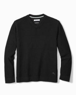 Island Fairway V-Neck Sweater