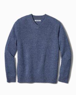Turrialba Twist V-Neck Sweater
