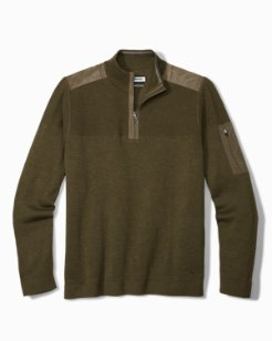 Island Fairway Half-Zip Sweater