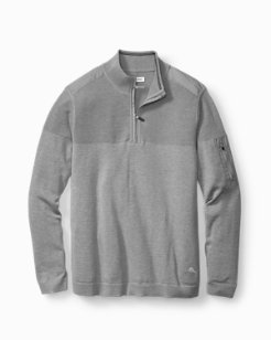 Island Fairway Half-Zip Sweater
