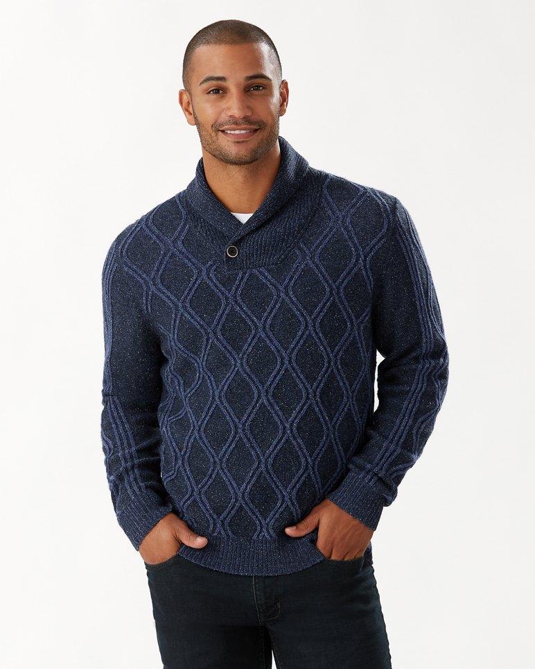 Main Image for Diamond Drive Shawl-Neck Sweater